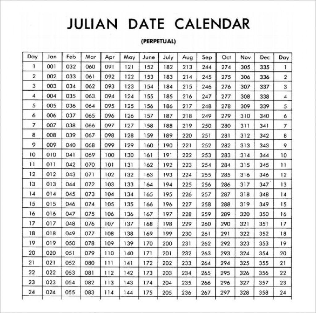 Julian Date Calendar 2020 | Free Printable Calendar in Printable Julian Date Calendar Leap Year