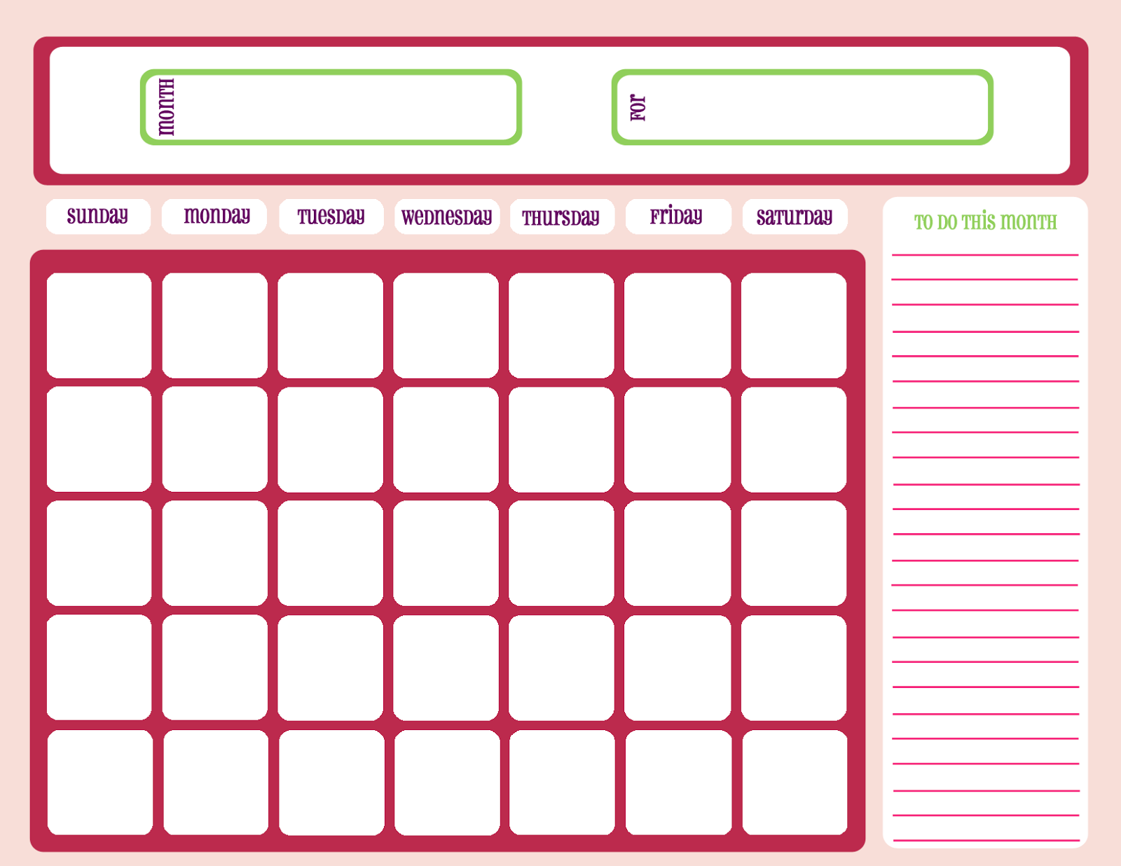 Printable Workout Calendar   Activity Shelter In Fitness Calendar For Kids May 2021