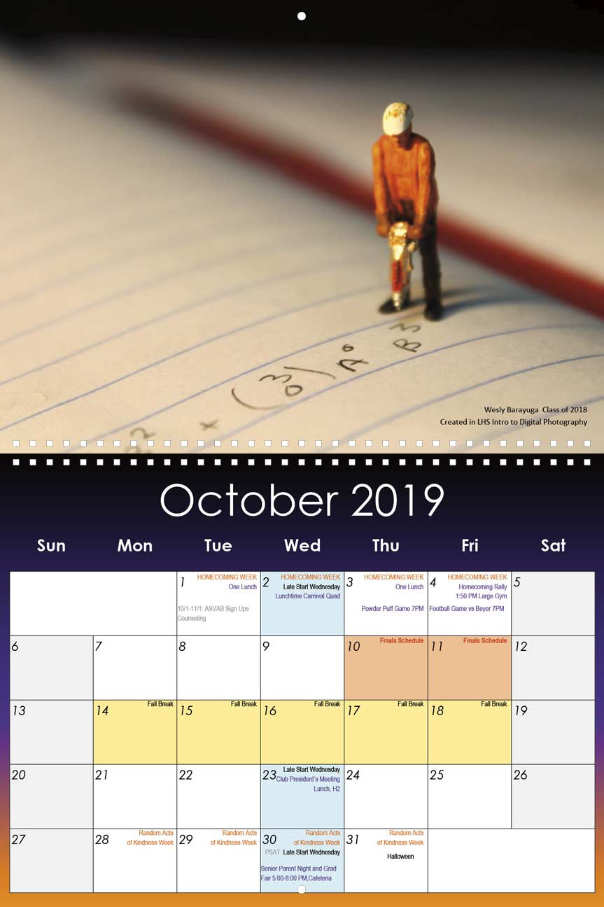 San Leandro High School 2014 Calendar | Printable Calendar Within Warren County Ky Spring Break