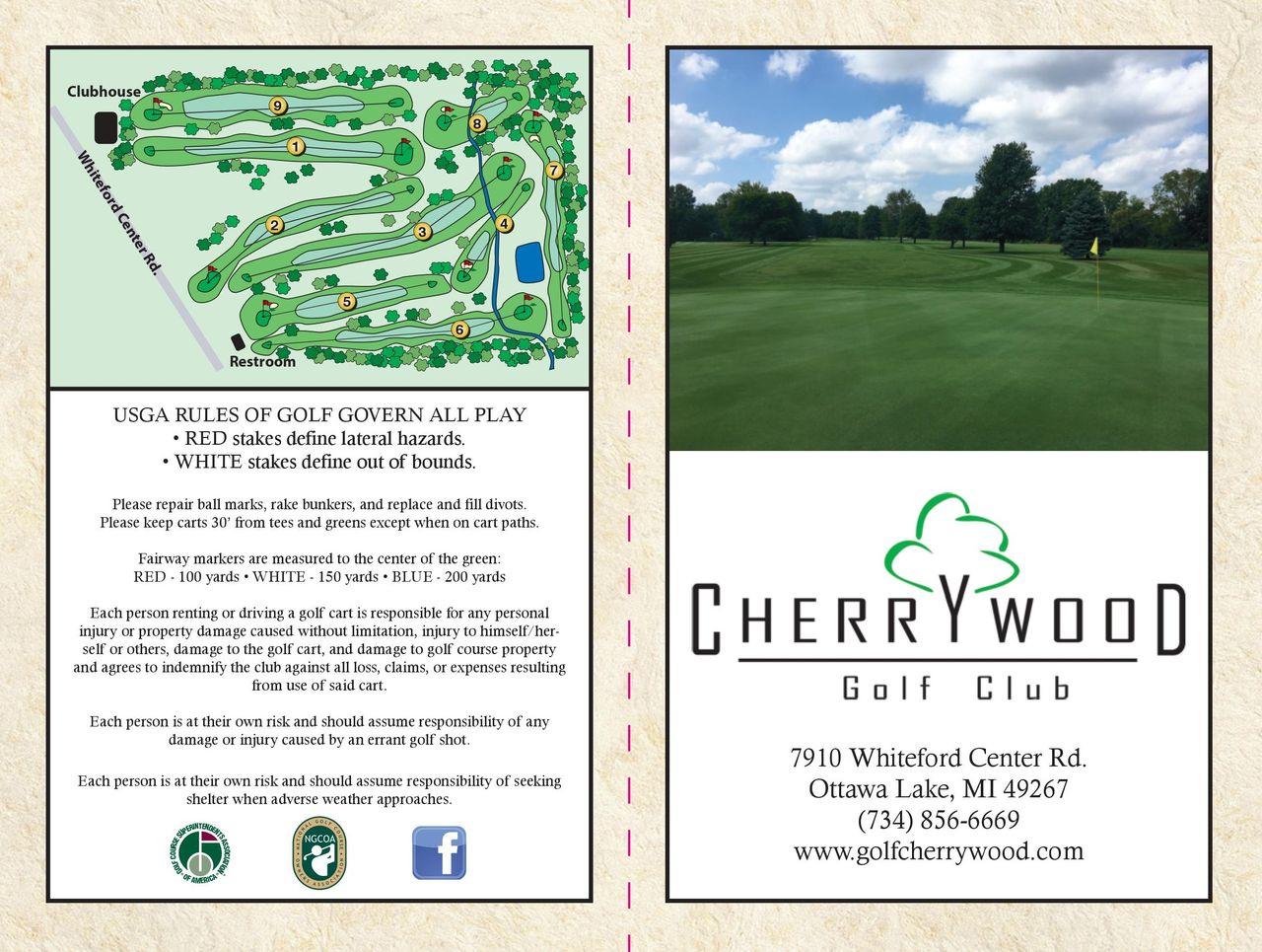 Scorecard - Cherrywood Golf Club Throughout White Bear Lake Activities Calendar 2021 2021