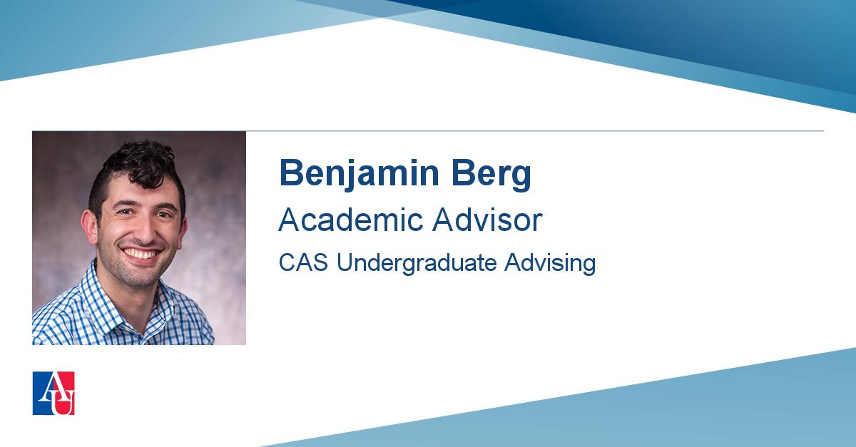 Staff Profile: Benjamin Berg | American University Regarding Franklin And Marshall Academic Schedule