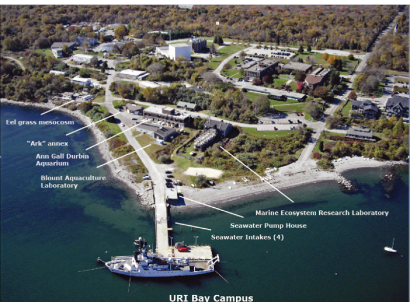 Uri Ranked Third 'Most Beautiful Coastal Campus' In Inside University Rhode Island Calendar