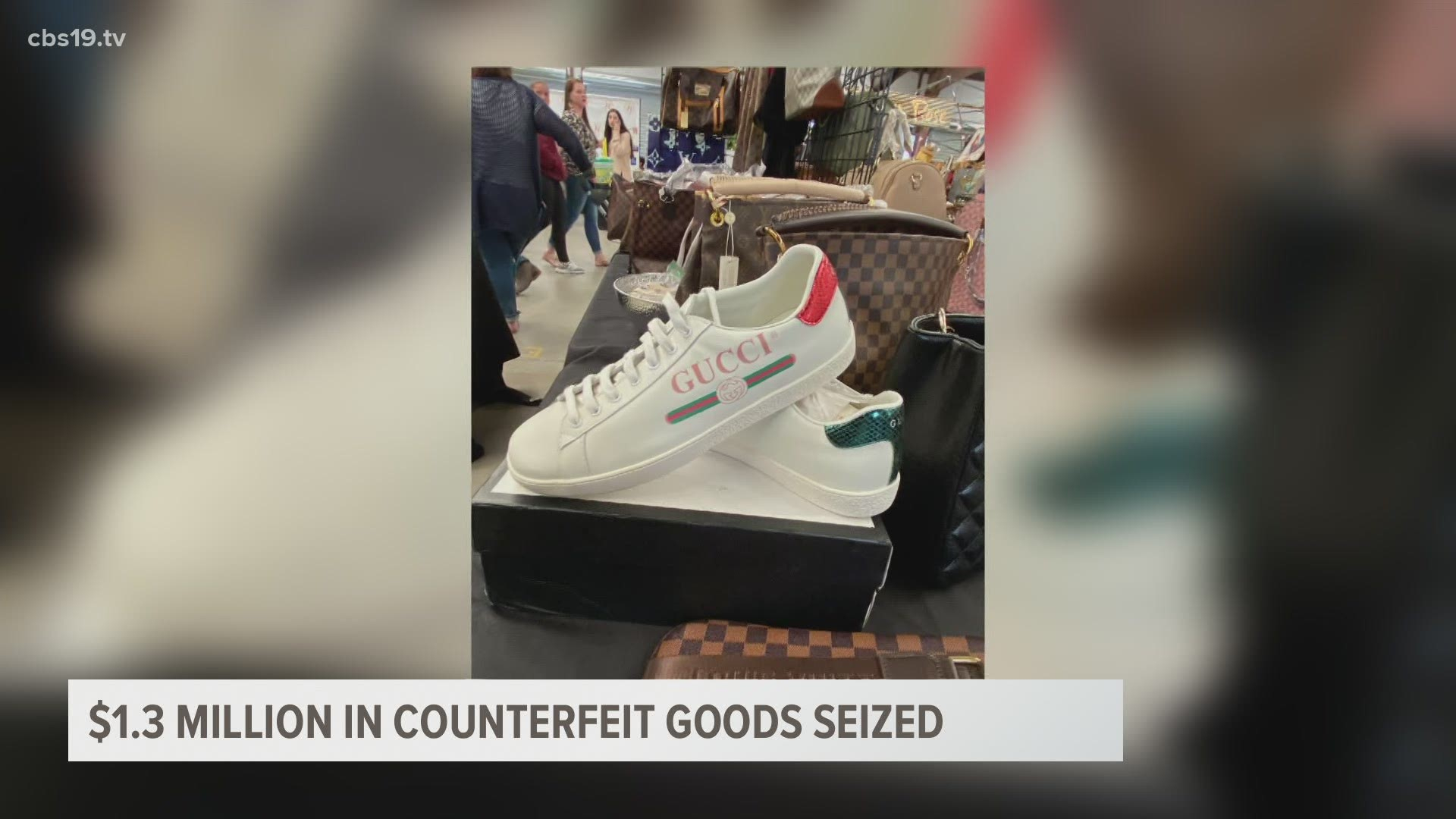 $1.3M In Counterfeit Goods Seized At First Monday Trade Inside Canton Trade Days 2021