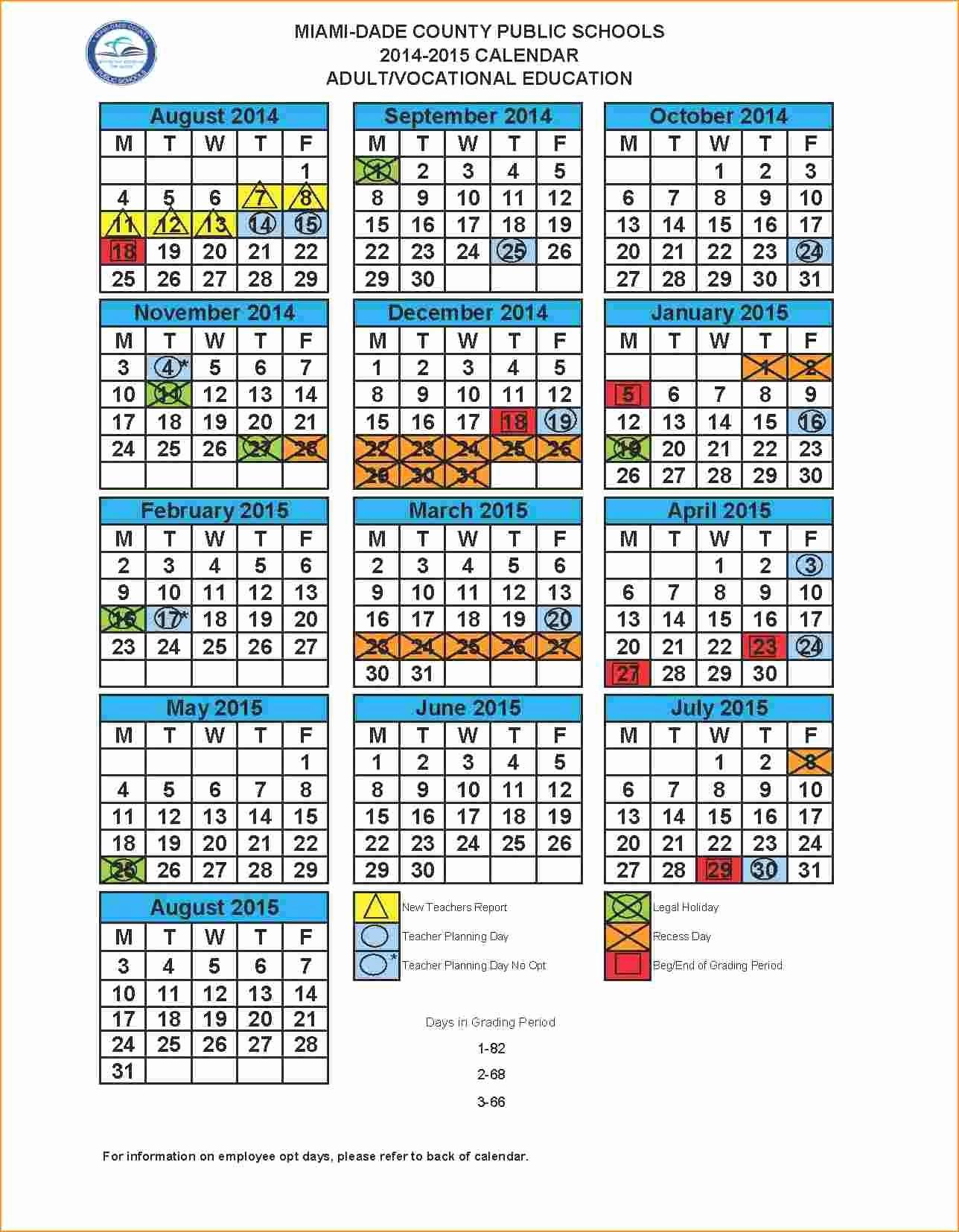 2019 And 2020 School Calendar Miami Dade For Miami Dade Public School Calendar 2020 2021