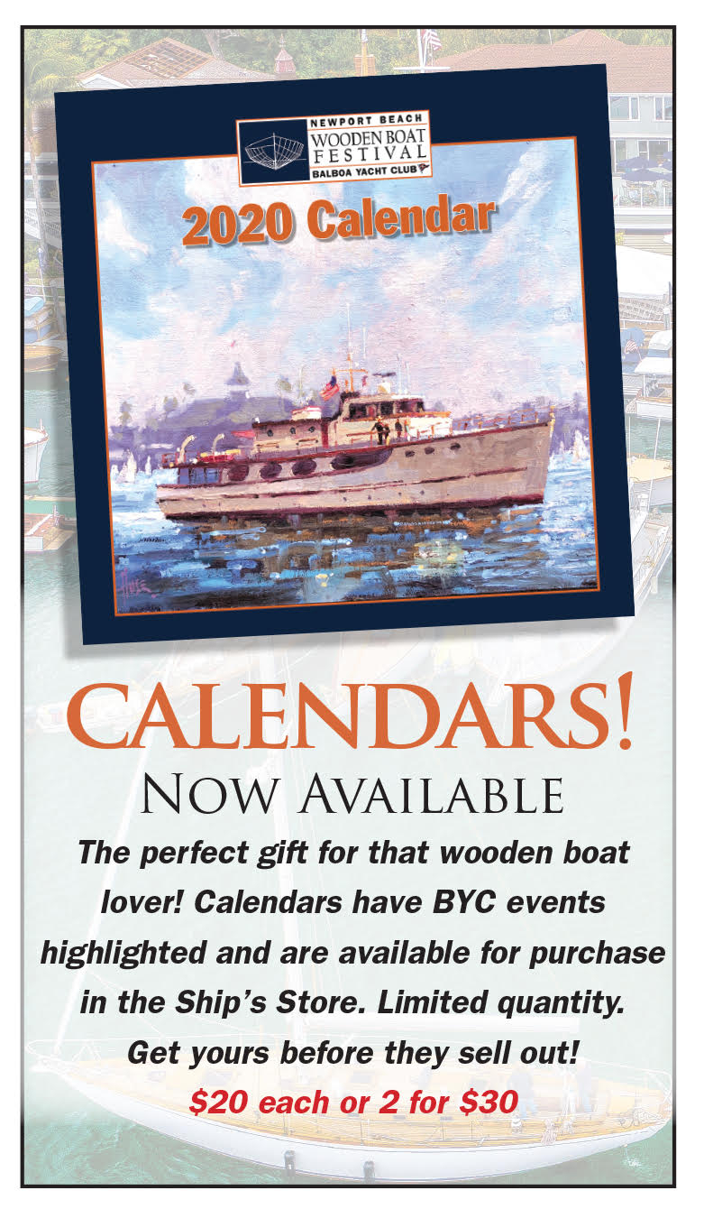 2020 Wooden Boat Calendar | Newport Beach Wooden Boat With Regard To Full Sail 2021 Calendar