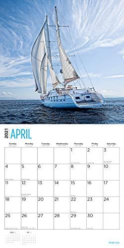 2021 Sailing Wall Calendarbright Day, 12 X 12 Inch In Full Sail 2021 Calendar