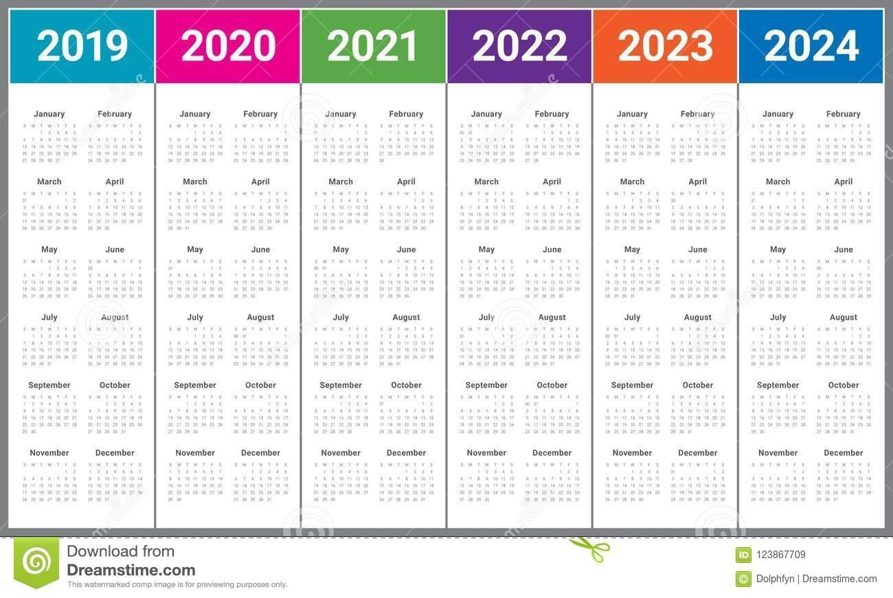 3 Year Calendar 2022 To 2024 | Ten Free Printable Calendar Regarding 4 5 4 Retail Calendar 2019 2022