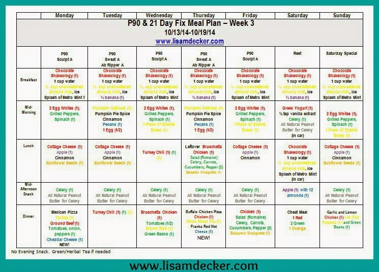 90 Day Supreme Workout Meal Plan   Eoua Blog Within Supreme 90 Day Schedule
