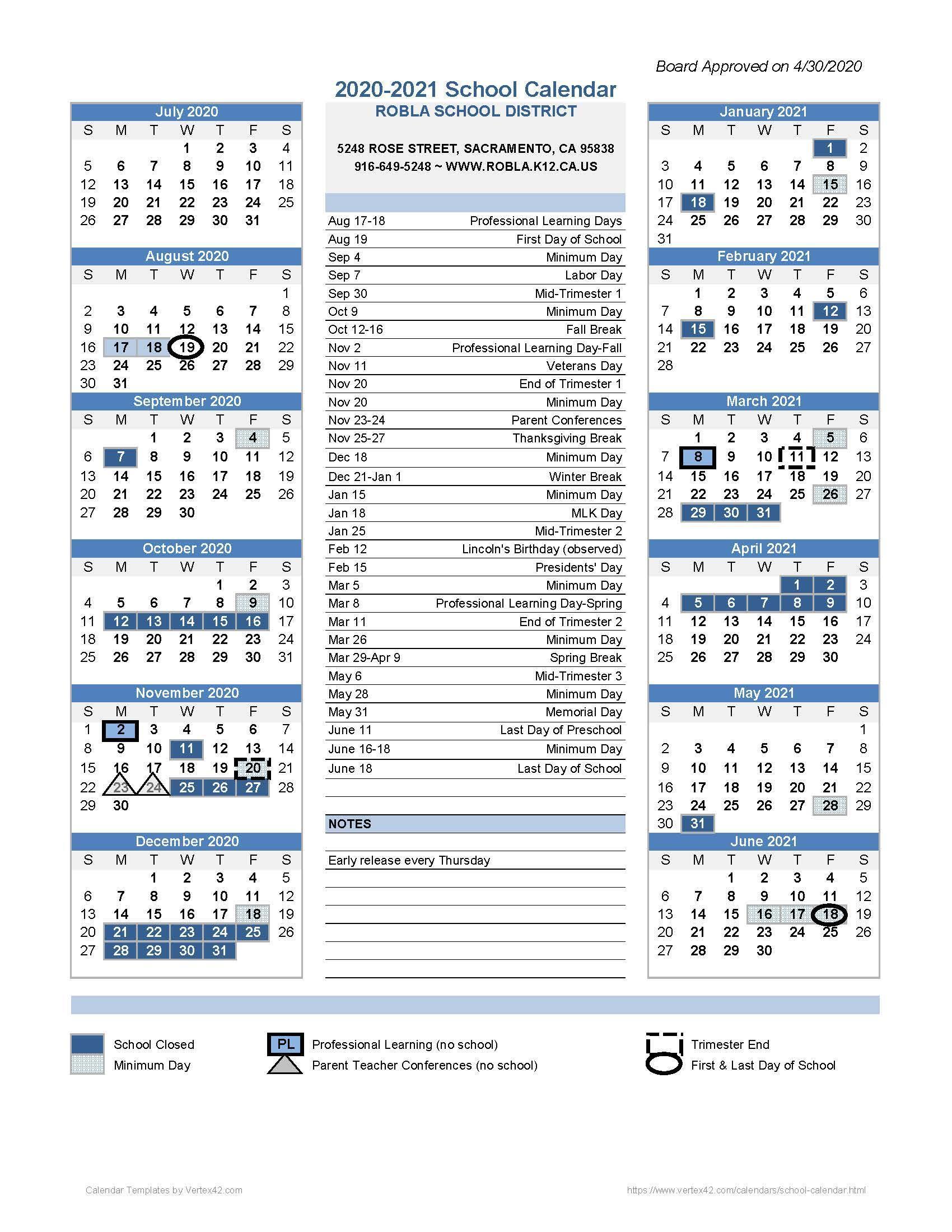 Academic Calendar / 2020 2021 Pertaining To Corona Norco Regarding Aiken County School District Calendar 2020 2021