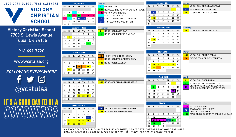 Academic Calendar 2021 Tulsa University | Printable Throughout Aiken County Public School Calendar 2021