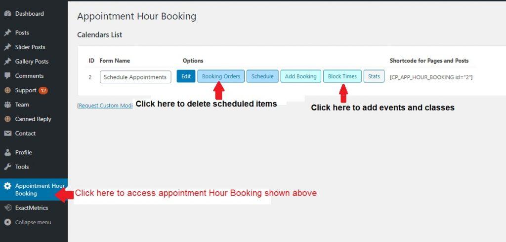 Appointment Hour Booking Screenshot   Hilton Head Island For Sun City Hilton Head Calendar 2021