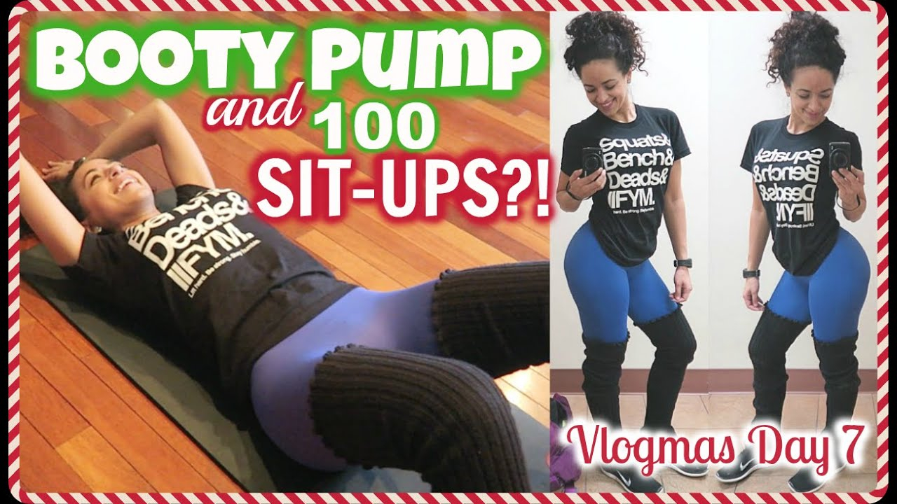 Avatar Nutrition, Booty Pump & 100 Sit Ups?! || Vlogmas With Sit Up Challenge 2021