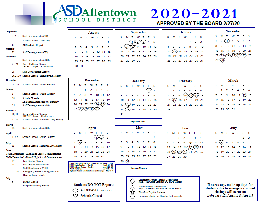 Basd / Homepage With Bethlehem Area School District Intended For Wilkes Barre Area School District Calander 2021
