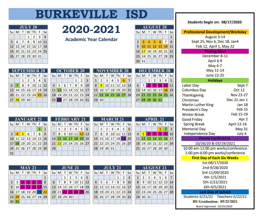 Bisd Calendar 2020 To 2021   Printable March With Regard To Fort Worth Isd Calendar 2021
