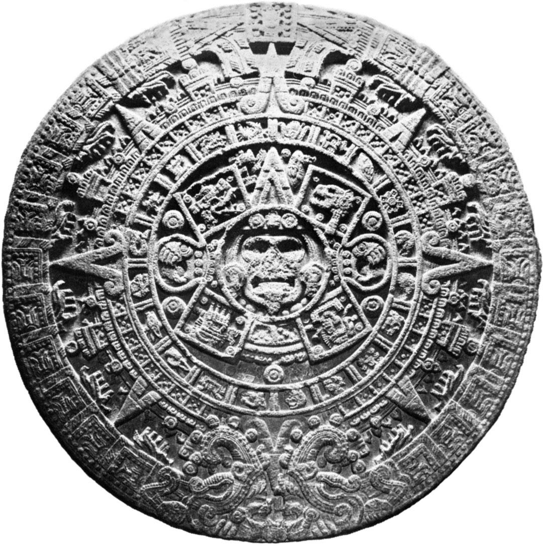 Calendar – The Mexican (Aztec) Calendar | Britannica With Mexican Caladener Names