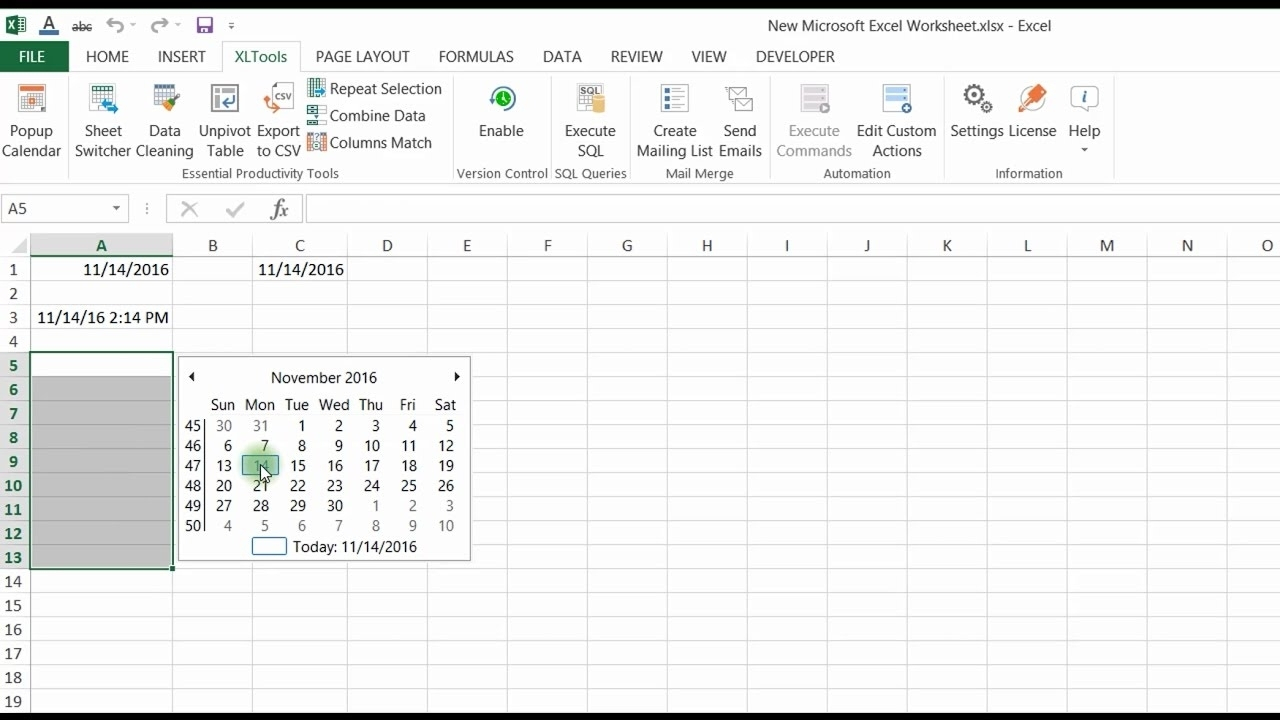 Calendar Week Formula Excel   Month Calendar Printable Inside Convert Excel To Calendar