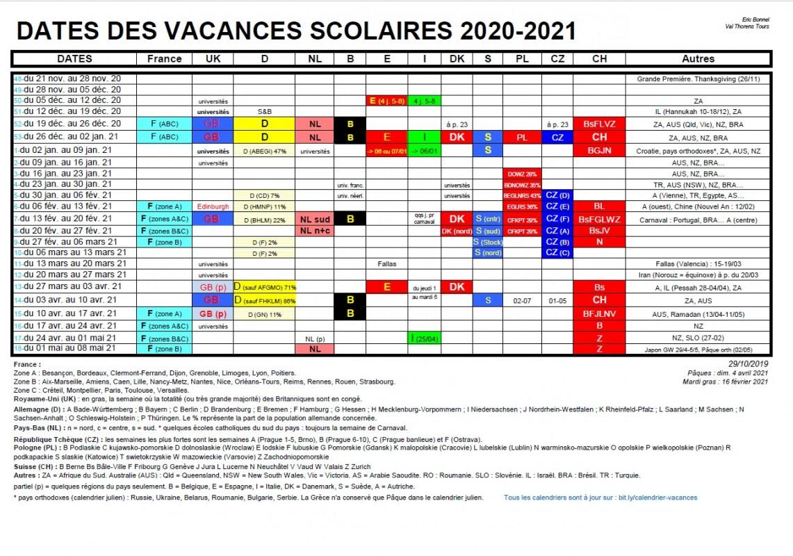 Calendrier Vacances Scolaires Européennes 2021 Intended For Valverde School Calender 2020 2021