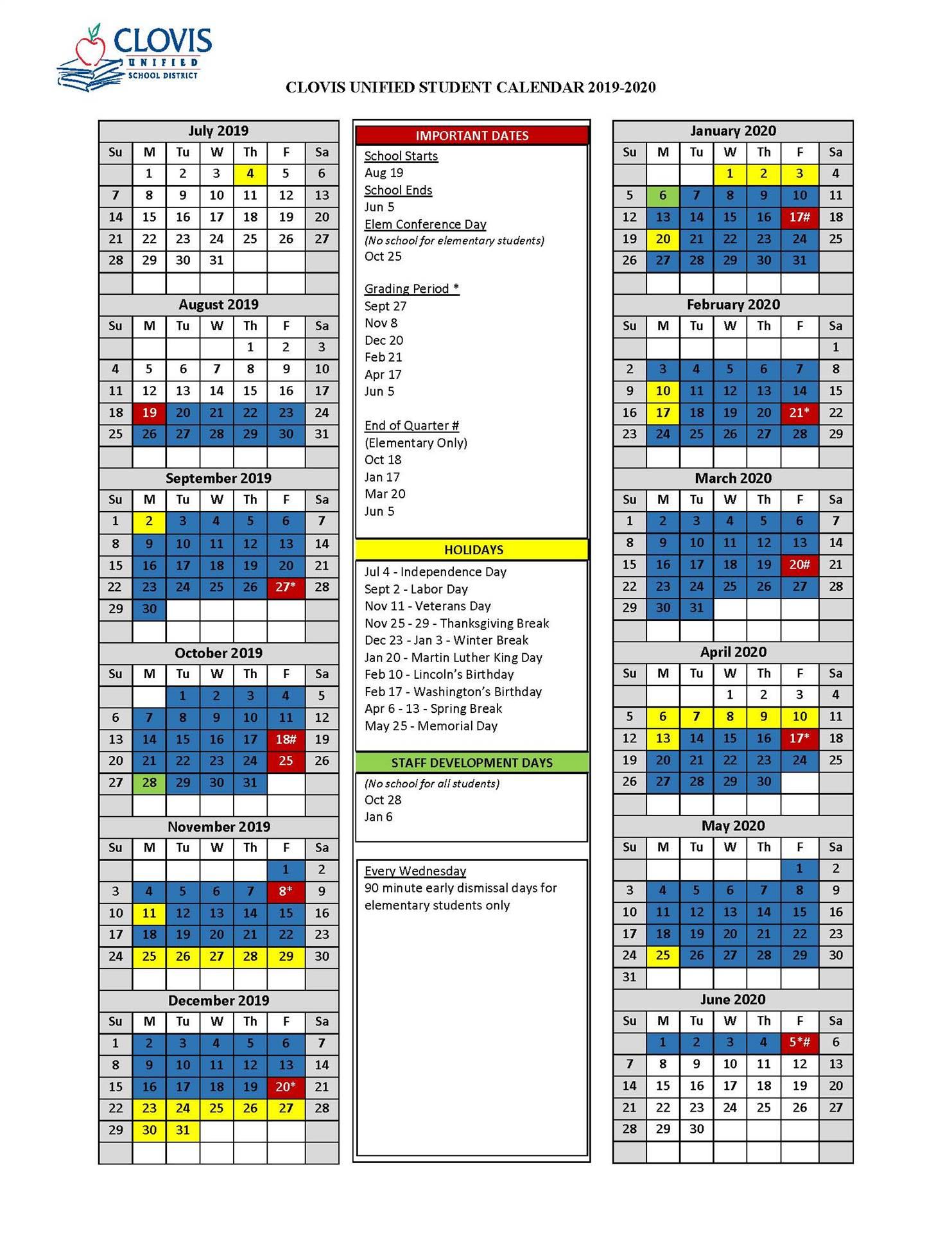 Charles County Public Schools Calendar   Printable With Regard To Davidson County School Calendar 2021