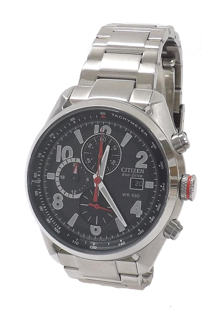 Citizen Eco Drive Wr 100 Chronograph Stainless Steel Regarding Citizen Eco Drive Wr100 Manual
