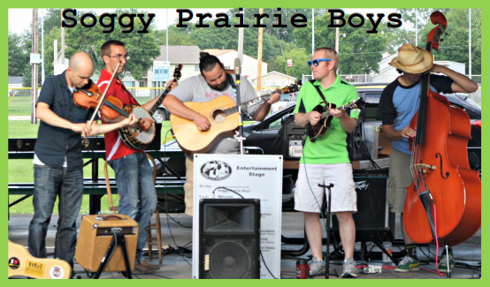 Concert In The Park - Soggy Prairie Boys   Deforest Area Inside Sun Prarie Calender School