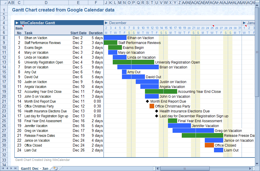 Convert Google Calendar To Excel And Word Format Regarding Import Calendar From Excel To Outlook