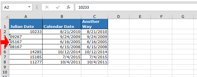 Convert Julian Date To A Calendar Date In Microsoft Excel Regarding Convert Excel File To Calendar