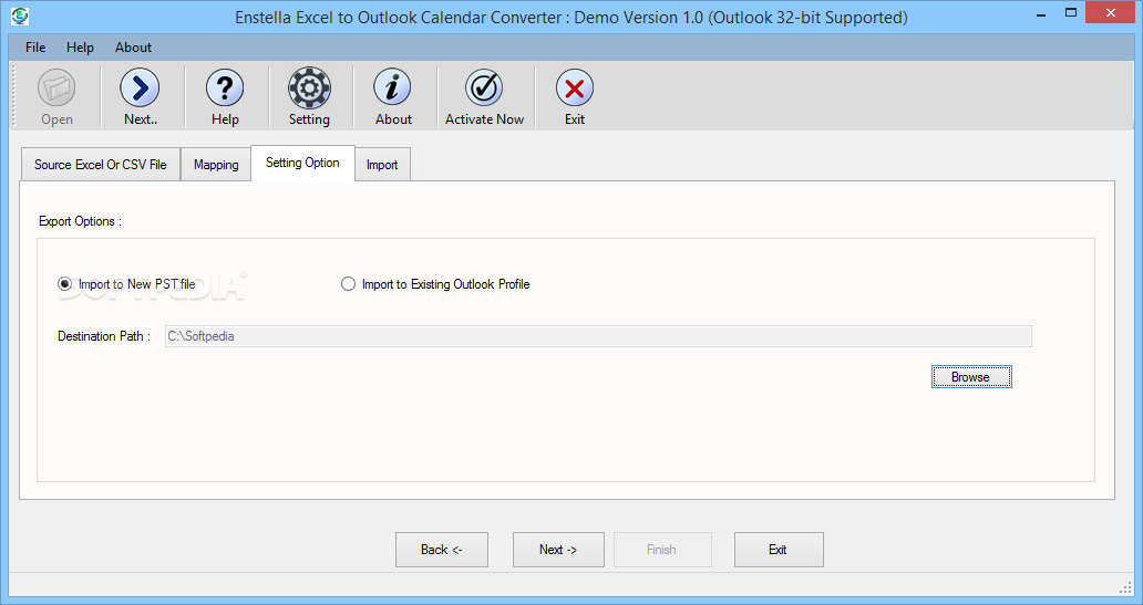 Download Enstella Excel To Outlook Calendar Converter 1.0 With Regard To Convert Excel To Calendar
