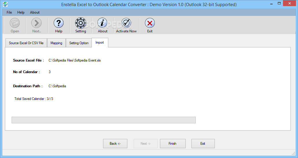 Download Enstella Excel To Outlook Calendar Converter 1.0 With Turn Excel Data Into A Calendar Not Outlook