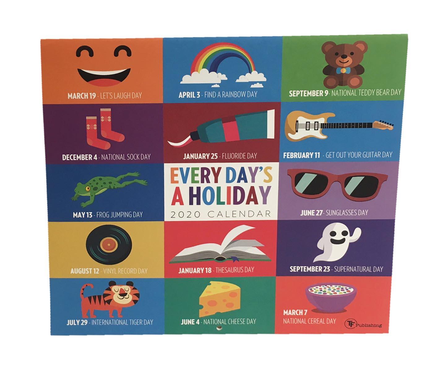 Every Day'S A Holiday Calendar Regarding Everydays A With Every Day A Holiday Calendar
