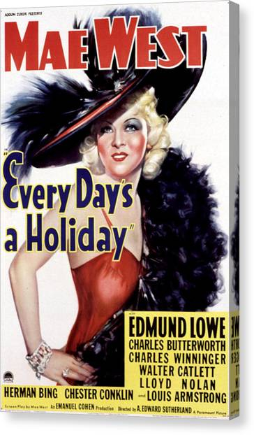 Every Days A Holiday, Mae West, 1937 Photographeverett With Every Day Is A Holiday