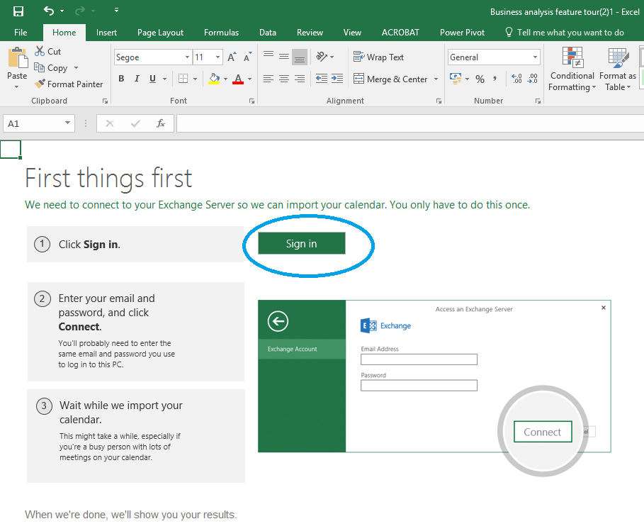 Excel 2016 Tricks |Calendar Analysis Power Pivot | Office 2016 For Turn Excel Data Into A Calendar Not Outlook
