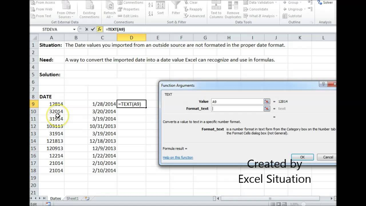 Excel Date Conversion - Youtube Pertaining To Convert For Export Excel To Calendar