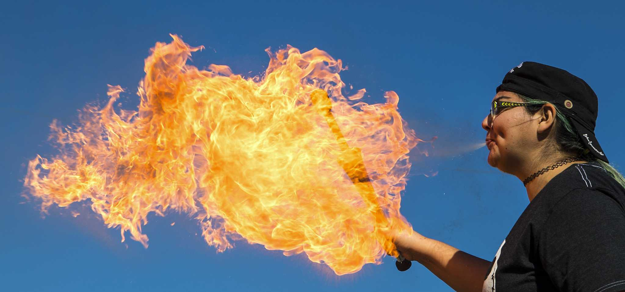 Fire Breathing Classes Come To Houston And They'Re Totally Lit With Regard To Houston Fire Schedule