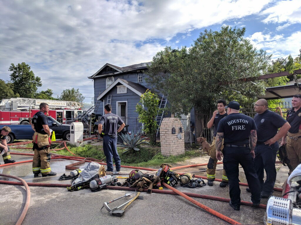 Fire Damages Fourplex In Fifth Ward Throughout Houston Fire Schedule