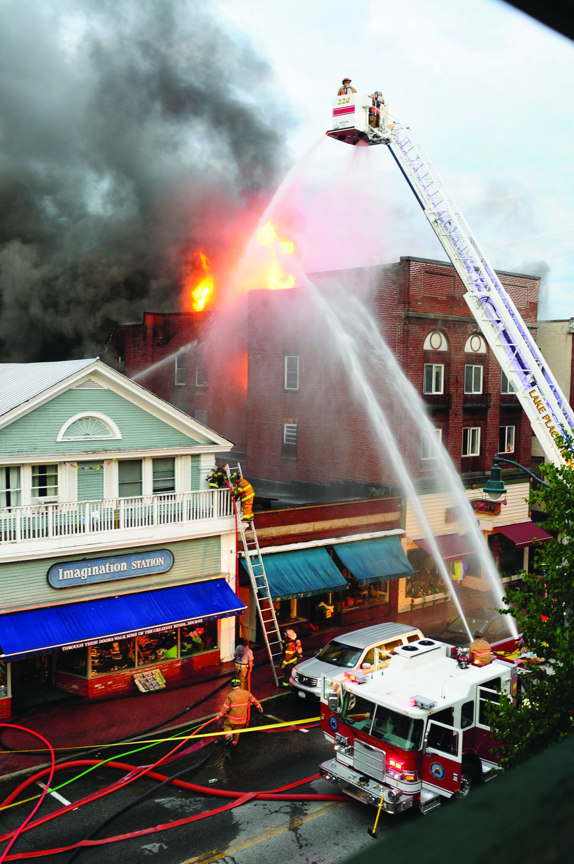 Fire Reported On Main Street In Lake Placid   News Regarding Lake Placid Events 2021