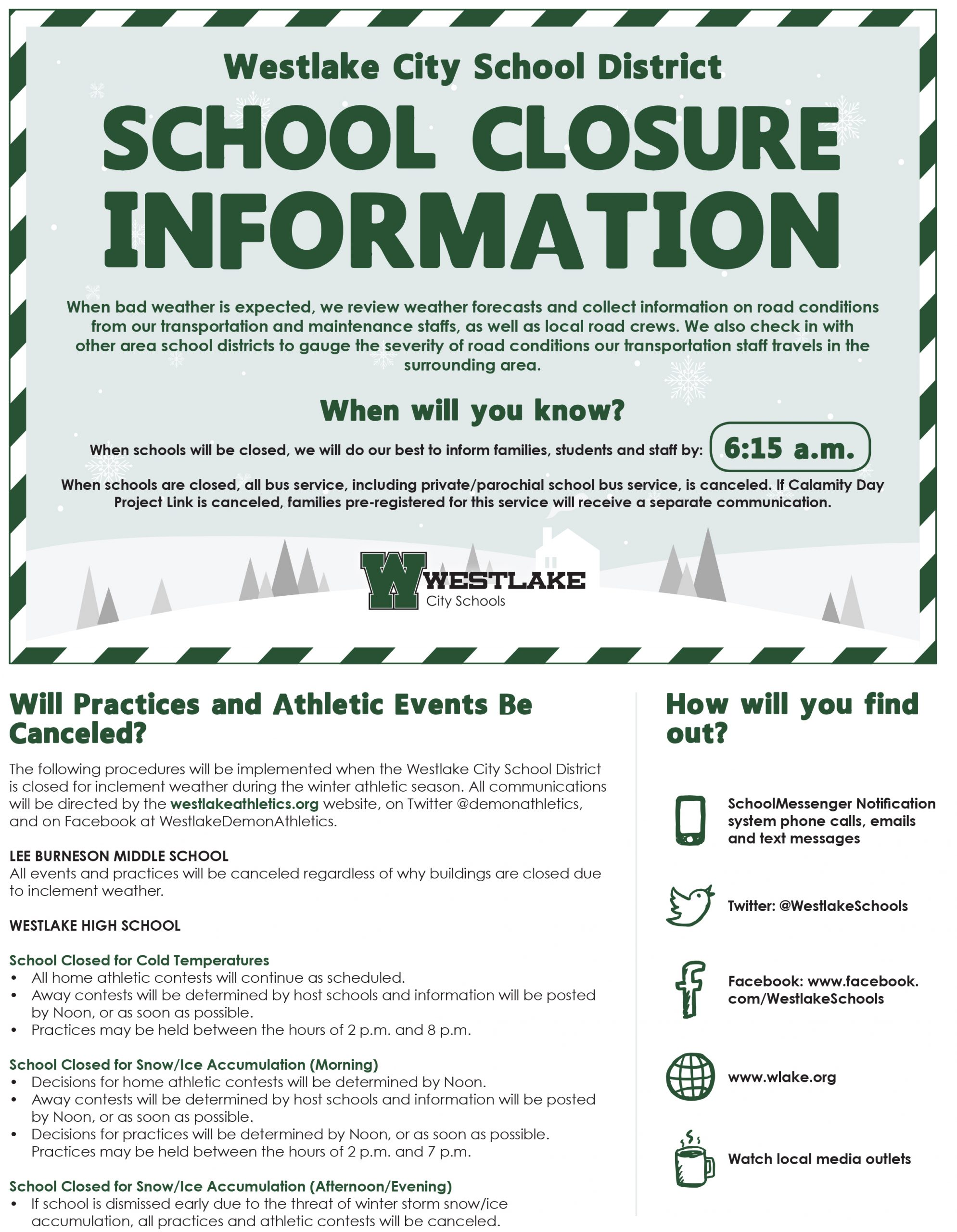 Flyer Connection - Westlake City School District With North Olmsted High School Calendar 2021 2022