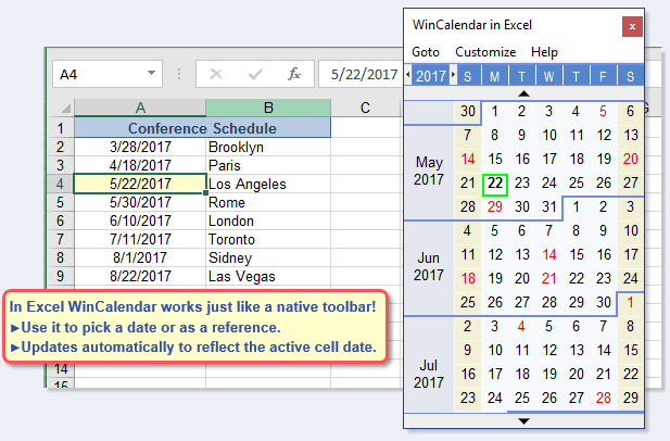 Free Excel Pop Up Calendar & Excel Date Picker Pertaining To Convert Excel File To Calendar