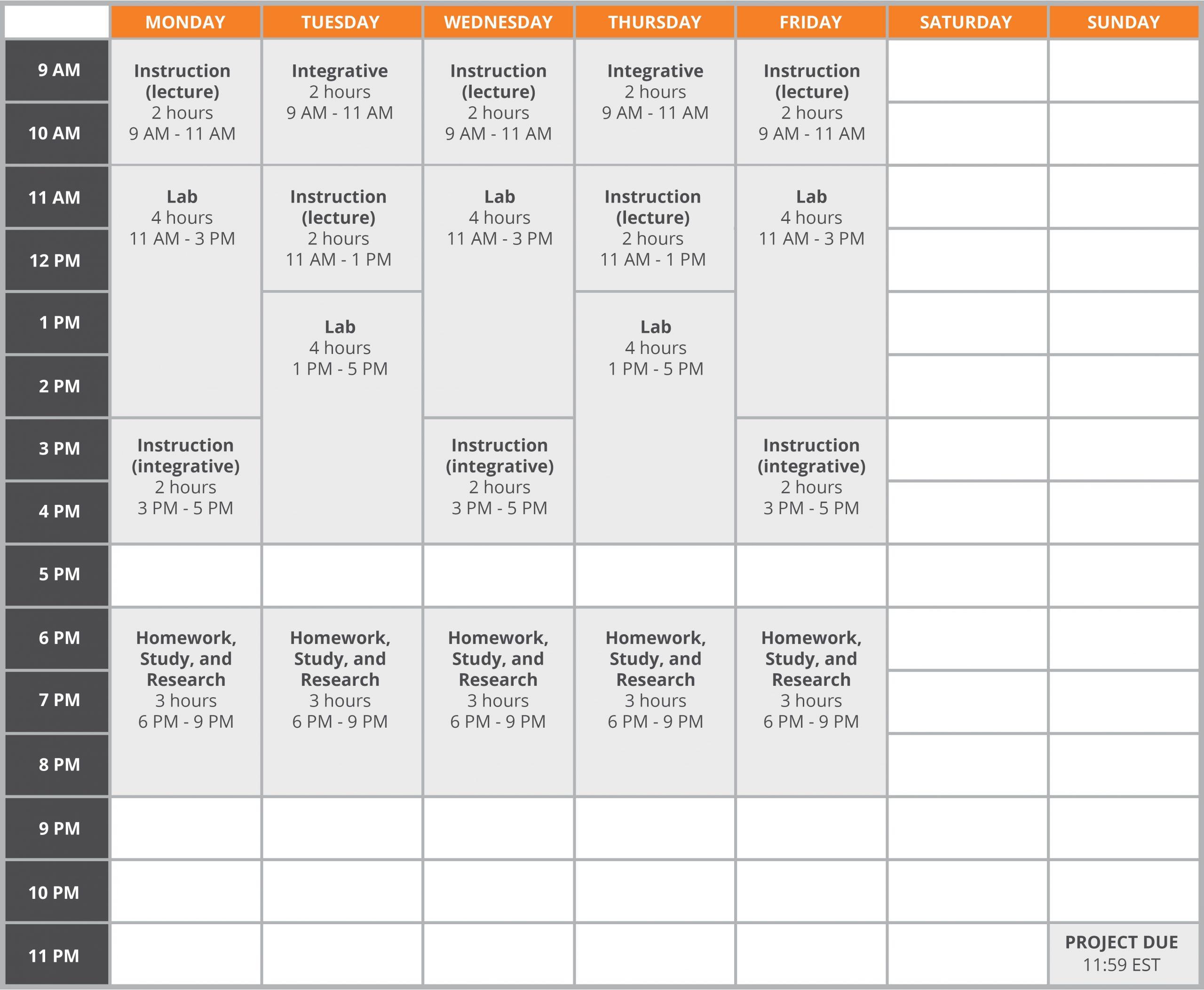 Full Sail University Class Schedule | Printable Calendar Throughout Pine Bluff School District Academic Calendar