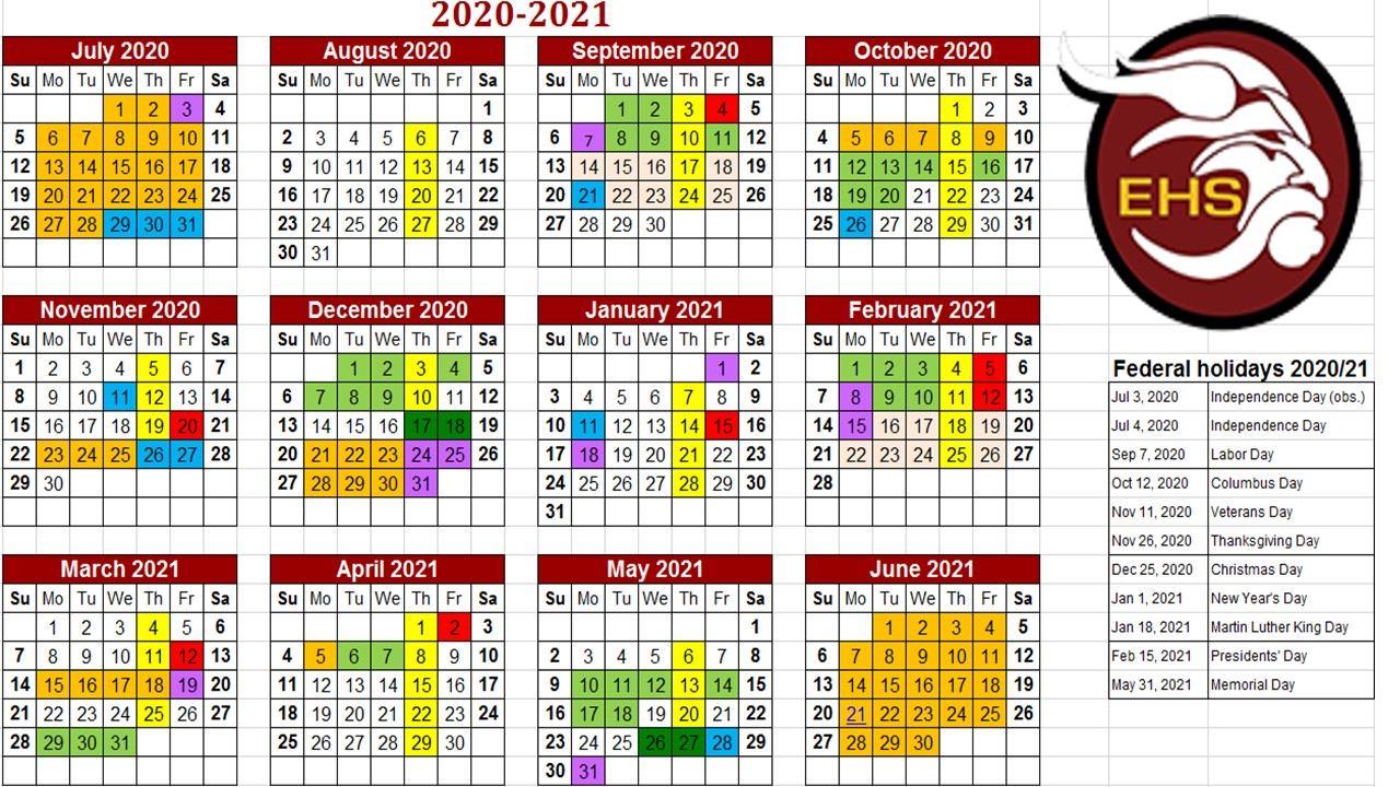 General Information / Bell And Calendar Schedules Regarding 454 Retail Calendar