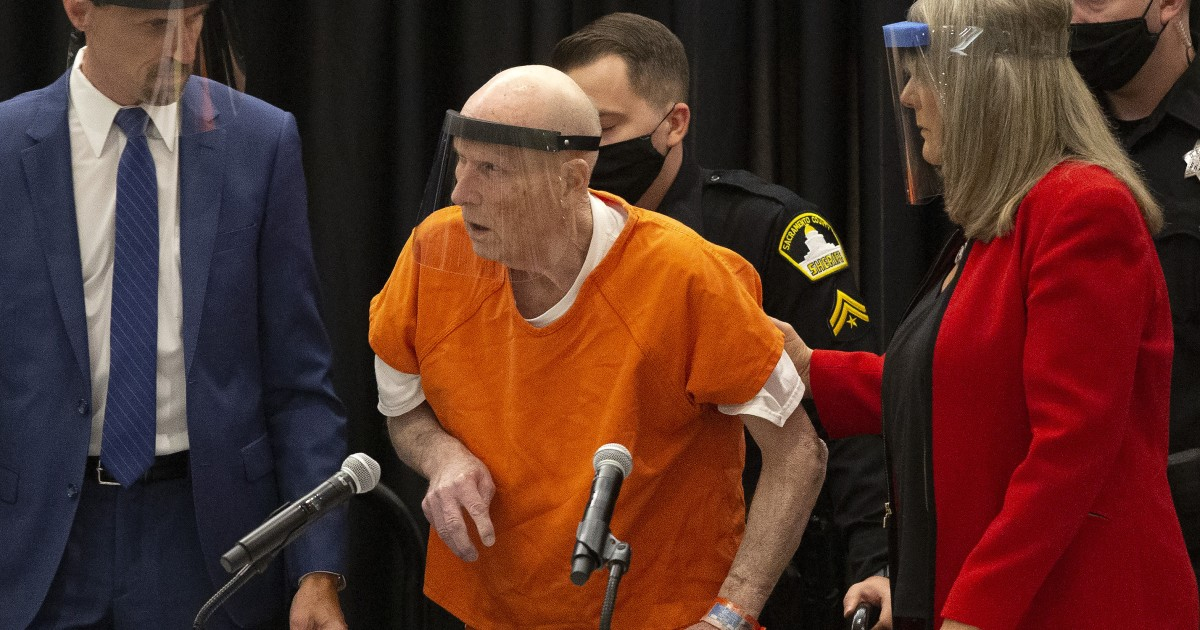 Golden State Killer Suspect Pleads Guilty To More Than A Regarding Nc Courts Officer Query