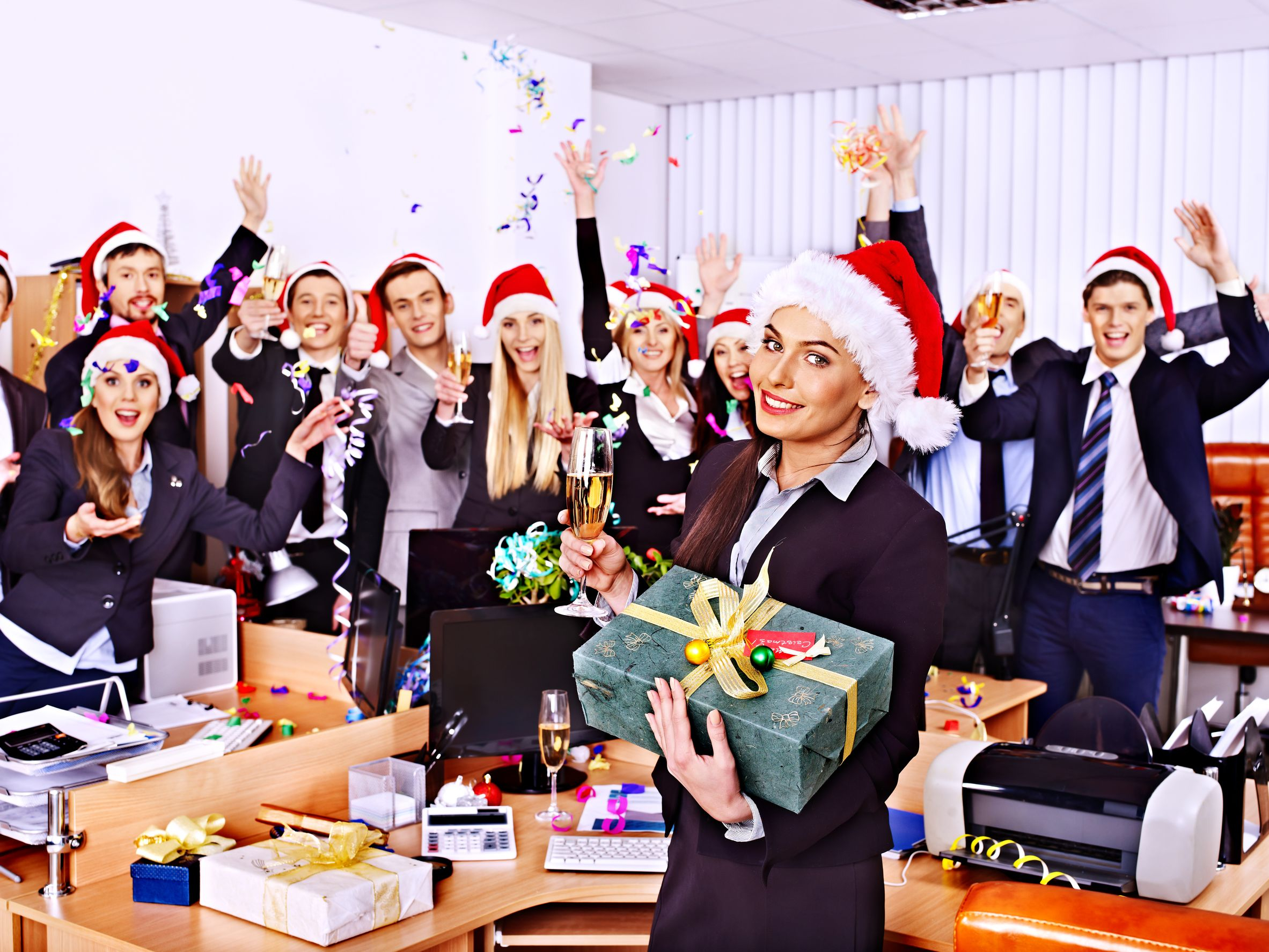 Holiday Season Helpers – Stress Relief – Career Intelligence Inside Office Work Holiday Fun