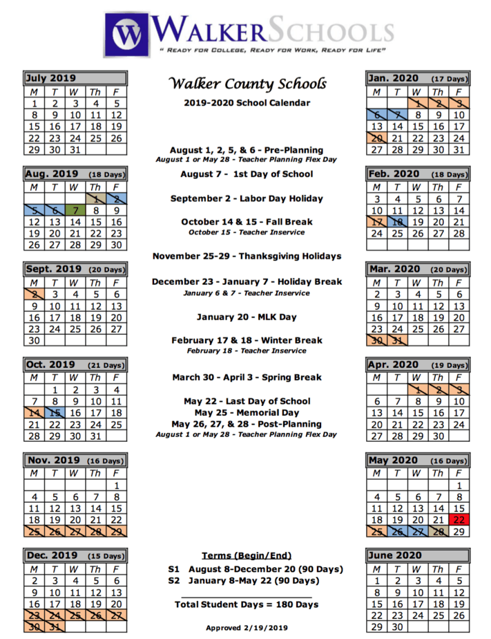 Holidays For Hillsborough County Schools | Printable throughout Full Sail University 2021 Semester Dates