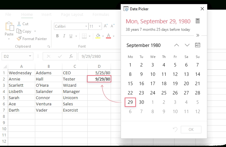 How To Add A Calendar Drop Down In Excel Graphics Pertaining To Calendar Drop Down Excel Template