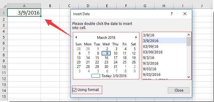 How To Create A Drop Down List Calendar In Excel? With Regard To Calendar Drop Down Excel Template