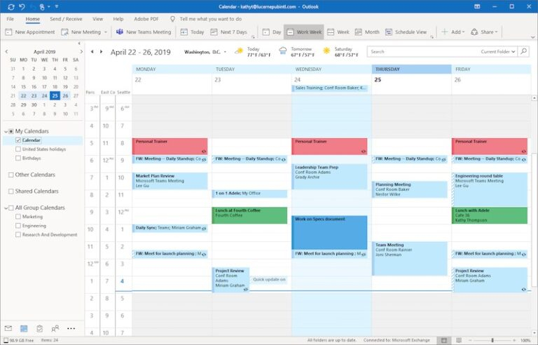 How To Export Microsoft Outlook Calendar To Excel Csv File Inside Import Calendar From Excel To Outlook