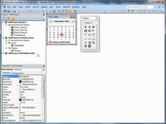 Insert Calendar Drop Down In Excel | Printable Calendar In Calendar Drop Down Excel Template