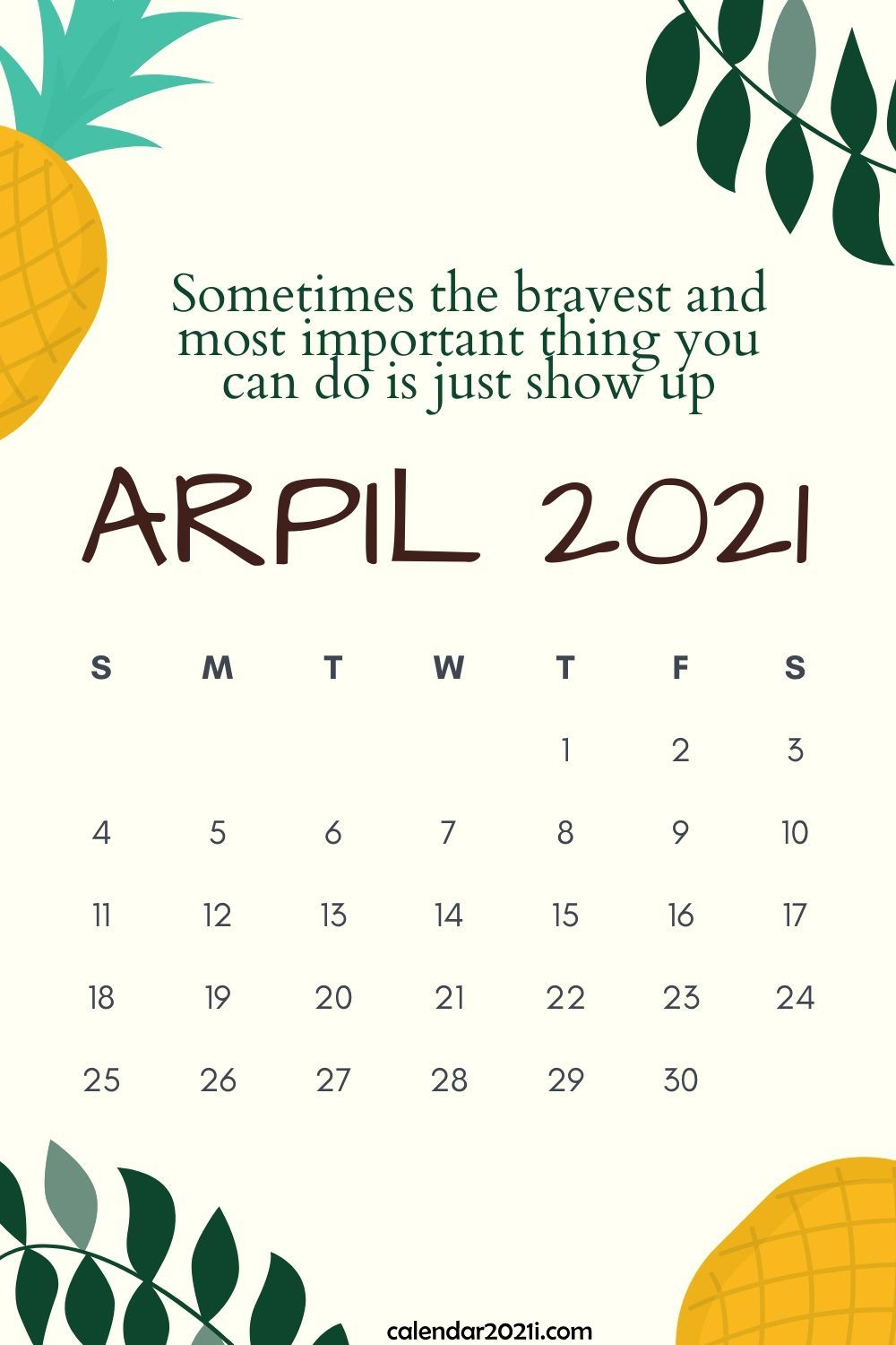 Inspiring 2021 Calendar Monthly Quotes   Calendar 2021 Intended For April Quotes And Sayings For Calendars