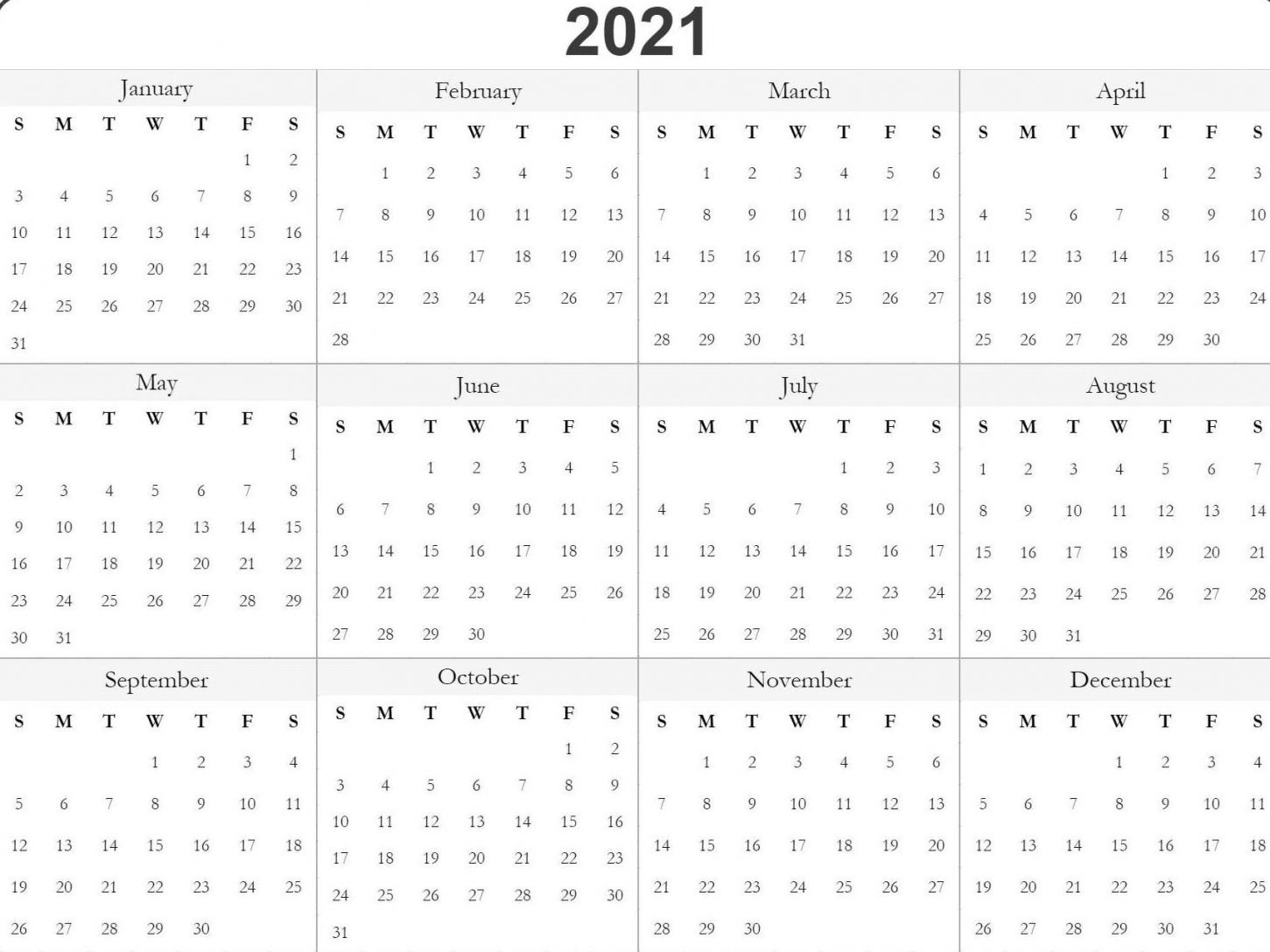Julian Date 2021   Calendar Template 2021 For Julian Date Conversion 2022
