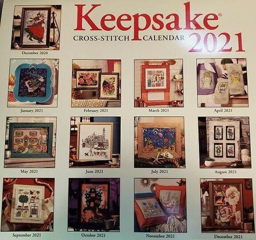 Keepsake Calendar 2021 – Ye Olde Cross Stitchery Regarding Mexican Calendar Saint Names 2021