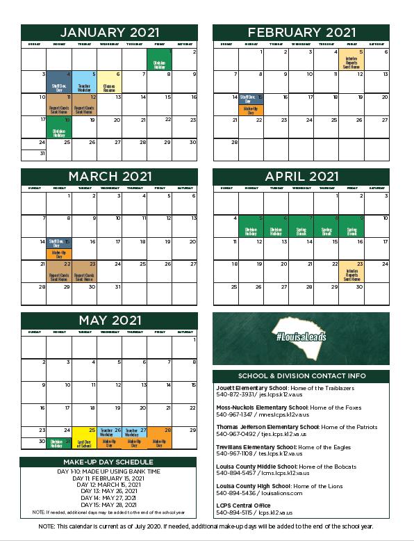 Lcps 2021 2022 Calendar | 2022 Calendar With 2021 2022 Aiken County Public School Calendar
